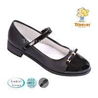 Туфли школьные на девочку черные Размеры:32-37