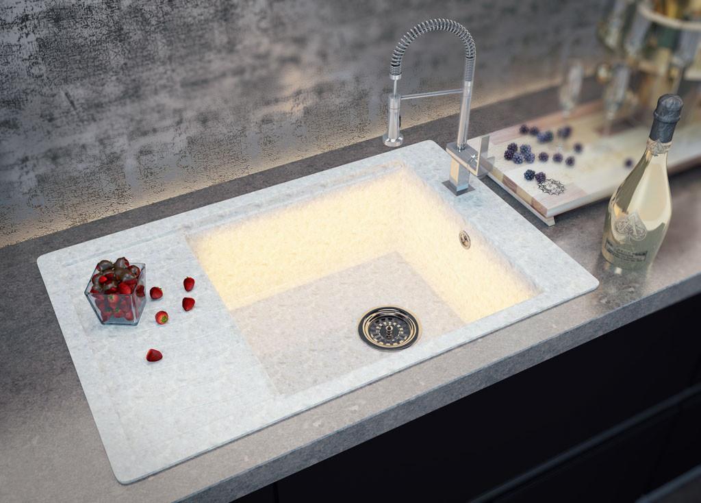 Кухонные мойки MOKO™ серии TecMar ONYX