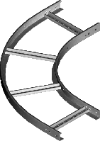 Арка кабельроста (дуга 90') LDP200H45