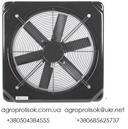 Вентилятор шахтный Deltafan 355/K/8-8/45/230