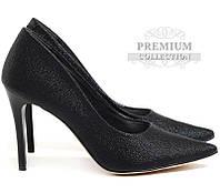 Женские классические туфли чёрного цвета, фото 1