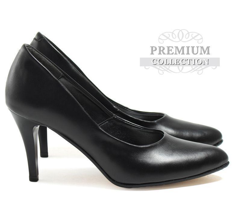 Самые качественные и удобные женские туфли чёрного цвета
