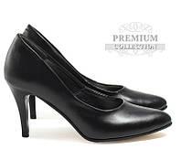 Самые качественные и удобные женские туфли чёрного цвета, фото 1