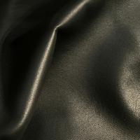 Гладкая черная одежная кожа Nappa