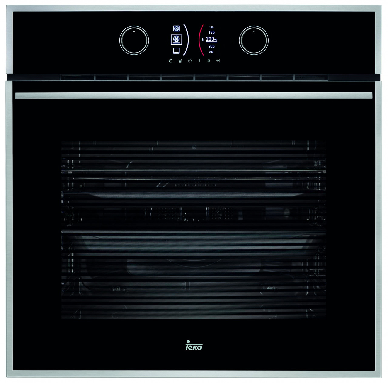 Духовой шкаф черный с пиролизом TEKA HLB 860 P