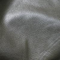 Фактурная черная одежная кожа