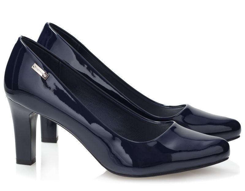 Женские туфли лодочки из лаковой кожи на каждый день
