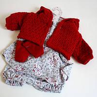 Набор одежды для кукол Llorens/Лоренс красная, 32 см