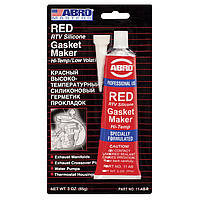 Abro AB-11 Герметик для прокладки 30гр Красный, фото 2