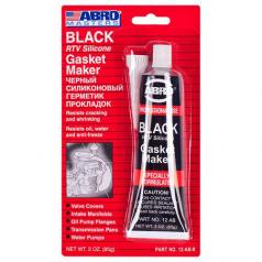 Abro AB-12 Герметик для прокладки 85гр Черный, фото 2