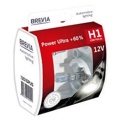 Автолампа Brevia H1 12V +60%
