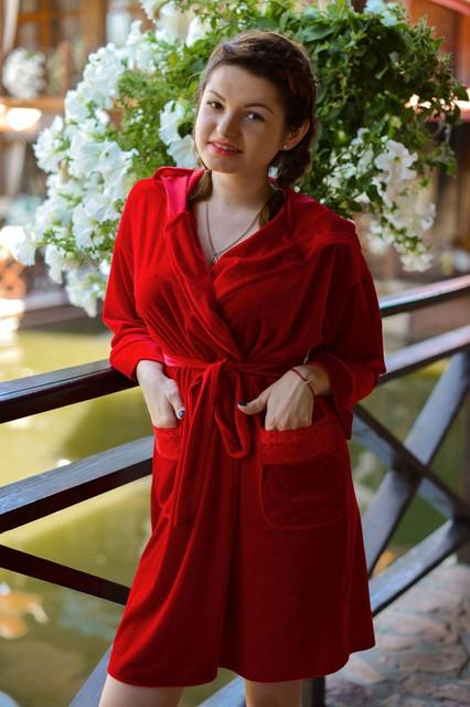 Женские халаты махровые, велюровые, трикотажные