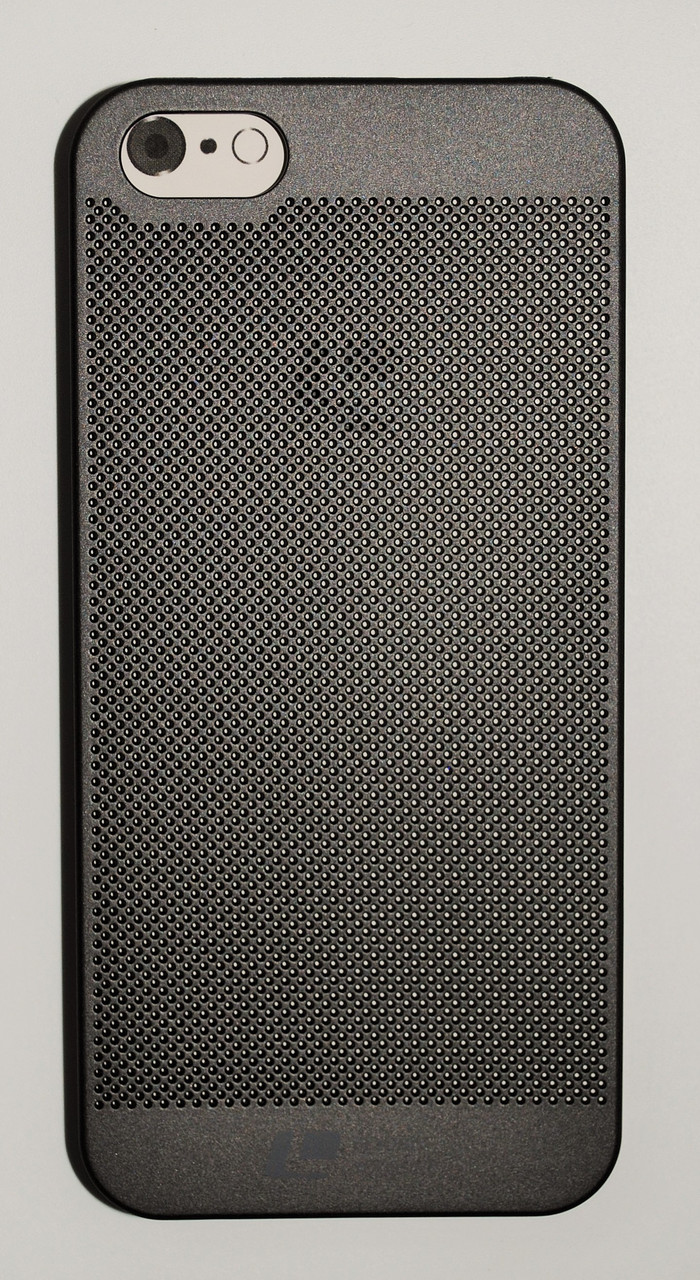 Чехол на Айфон 5/5s/SE Soft Touch Loopee мягкий Пластик Черный