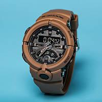 Спортивные наручные часы CASIO G-SHOCK GA-500 BROWN