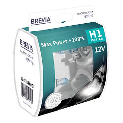 Автолампа Brevia H1 12V 100%