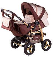 Детская коляска-трансформер Adamex Young 255G