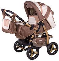 Детская коляска-трансформер Adamex Young 256G
