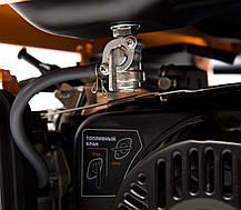 Генератор бензиновый Daewoo GDA 8500DPE-3(380/220В) (7,5кВт), фото 2