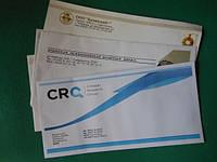 Форматы конвертов. Печать на конвертах