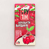 "Пастила без сахара ""Сочная вишня"", 75 г ТМ ""ФруТим"""