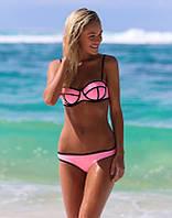 Уценка! Яркий купальник TRIANGL розовый L
