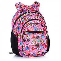 Школьный ортопедический рюкзак для девочек 3 класс, фото 1