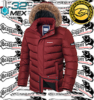 Мужские зимние куртки с мехом Браггарт