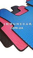 EVA ковры в кабину для DAF XF 105 черного цвета