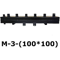 Распределяющий коллектор для системы отопления М-3-(100*100)