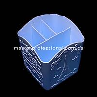 Стакан (подставка) для кистей голубой