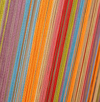 Шторы Нити, кисея радуга вертикальная №104 семицвет