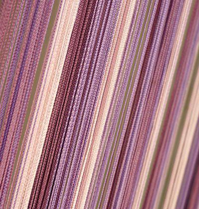 Шторы Нити, кисея радуга вертикальная №126 лиловая растяжка