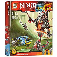 Детский Конструктор для мальчиков Конструктор Ninjago  SY857  530дет., в коробке 37*33.5*7см