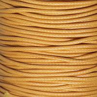 Шнур Вощеный Полиэстер, подходит для плетения браслетов, Цвет: Оранжевый, Размер: Толщина 1.5мм, 85м/катушка, (УТ0011723)
