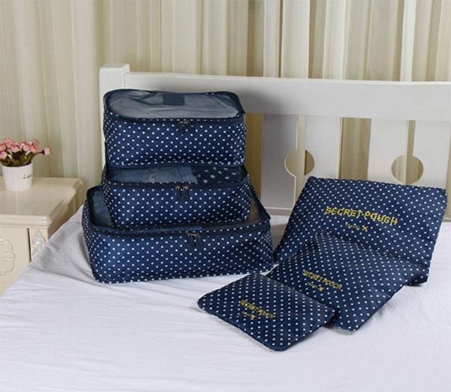 Набор дорожных сумочек в чемодан