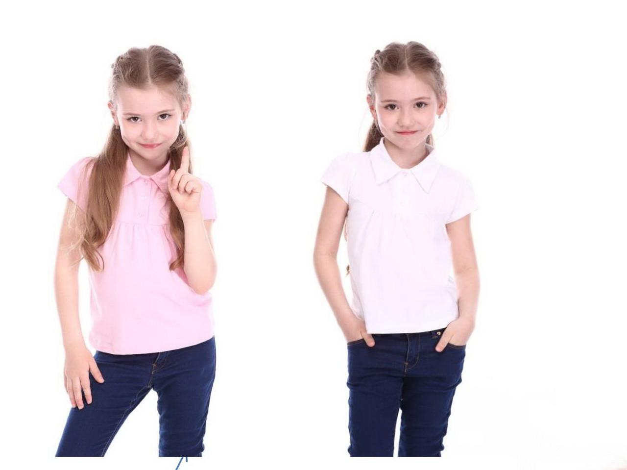 Футболка - блуза для девочки Милая