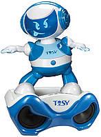 Набор с интерактивным роботом DISCOROBO – ЛУКАС ДИДЖЕЙ (робот, MP3-плеер с колонками, танцует, озв.)