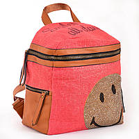 Сумка-рюкзак из эко кожи 1 ВЕРЕСНЯ, 554411 красный 12 л