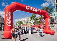 Пневмоконструкция Арка Кока Кола