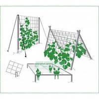Сітка шпалерна для вирощування огірків 3м