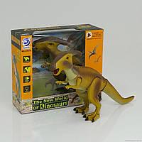 Динозавр  подсветка, звук, ходит, двигает головой, на батарейке
