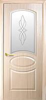 Дверь ПВХ (Фортис Р) RT В (овал полуост) Р1