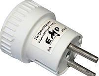 Переходники электрические (220V/6А) одинарные