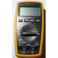 Тестер цифровой victor vc81b, автоматический/ручной выбор диапазона, доп. функции, защитный холстер, фото 1