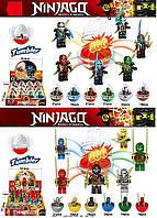 Детский Конструктор для мальчиков Конструктор Ninjago  Ninjago (3D003/6) - 12видов, с аксесс., 12шт в к