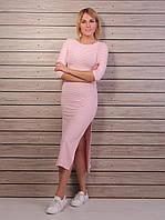 Женское  молодежное платье  миди (42-48), доставка по Украине