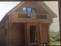 Дома из оцилиндрованного бруса