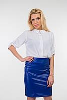 Блуза женская из креп- шифона с рукавом три четверти