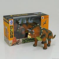 Динозавр підсвічування, звук, ходить, рухає головою, на батарейці