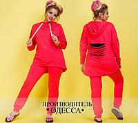 Спортивный костюм №3402П (р-р.48,50,52,54). Ткань-двунитка. Цвета в ассортименте